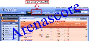 panduan masuk casino 338a, arenascore.net