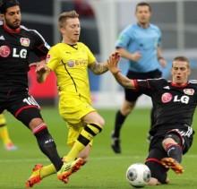 Bayer Leverkusen vs Borussia Dortmund-arenascore.net