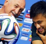 Felipe Scolari said Neymar the best attacker-Barcelona vs Guangzhou Evergrande