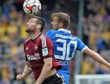 Nurnberg vs Eintracht Braunschweig