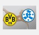 Stuttgarter Kickers vs. Borussia Dortmund ( Arenascore )