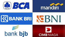 bca, mandiri, bni, bri